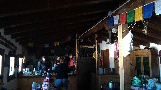 Abetone, Italy: Il bivacco d'inverno