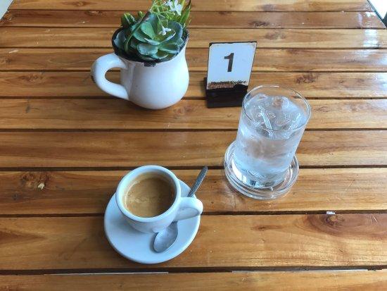 Loei Province, Thailand: Endlich mal ein guter Espresso ;)