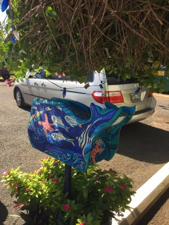 Painted letterbox Picture of Garden Island Inn Lihue TripAdvisor