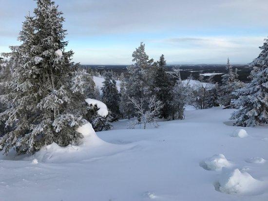 Kuusamo, Finlândia: Off-pist