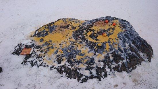 Pereslavl-Zalessky, Rusia: Ο μπλε βράχος