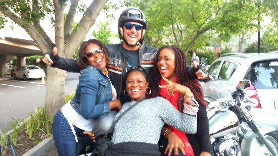 Camps Bay, Sør-Afrika: Harley Chauffeur ride 2016
