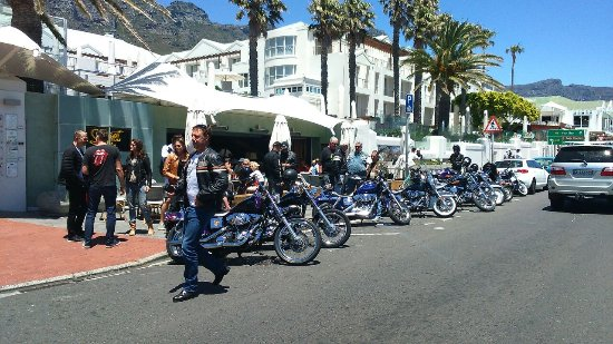 Harley Chauffeur ride, Camps Bay 2017