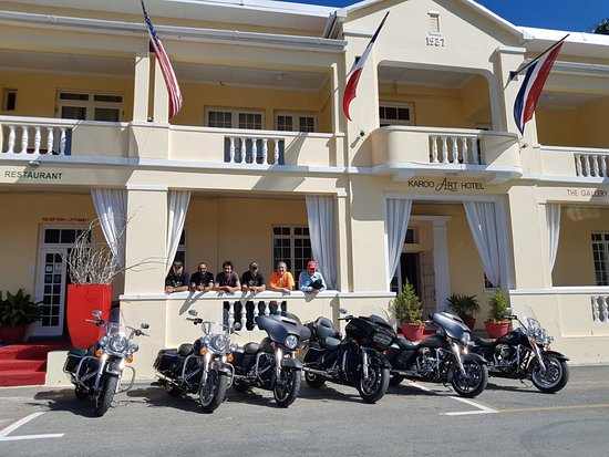 Camps Bay, Güney Afrika: Harley Davidson Launch, Barrydale