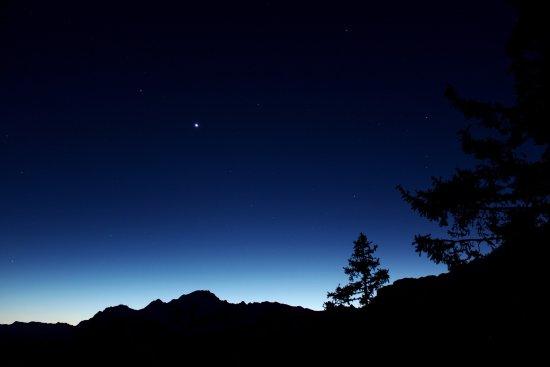 Lanzada, Italia: Panorama notturno