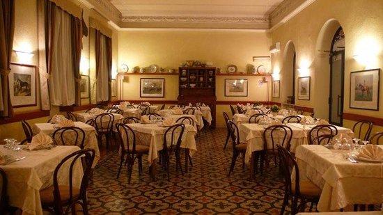 La sala principale del ristorante