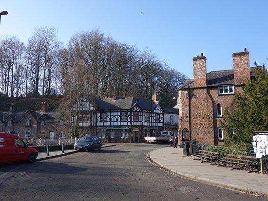 Lymm, UK: Village centre