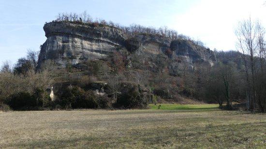 Grotte de Font-de-Gaume : Grotte au 2/3 de la montée