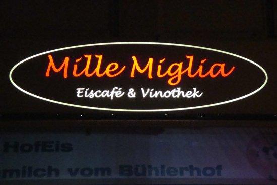 Murr, Allemagne : Hinweisschild am Restaurant