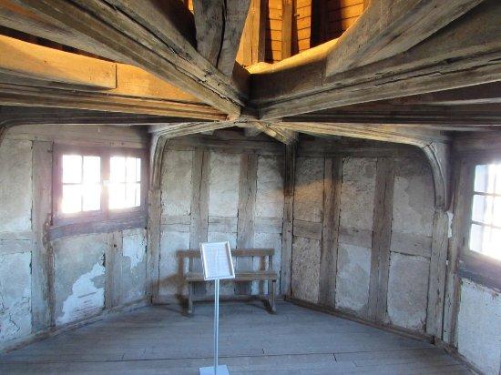 Beaugency, France: combles du chateau