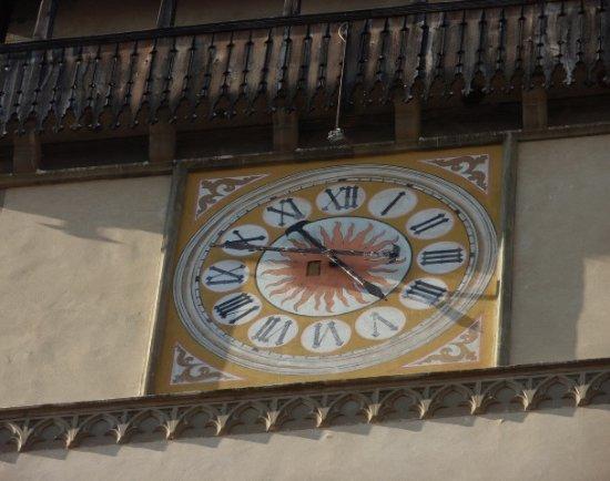 St. Egidius Basilica : Orologio del campanile