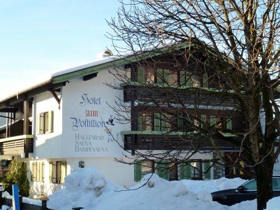 Hotel Zum Postillion: Blick von der Straßenseite