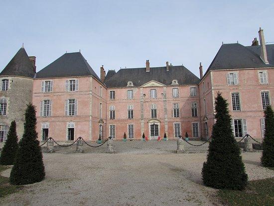 Meung-sur-Loire, Γαλλία: façade arrière