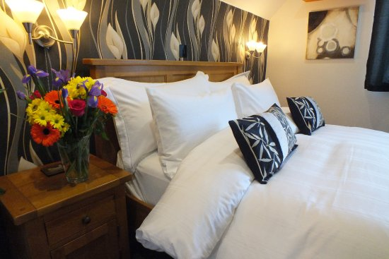 Dores, UK: Super comfortable beds in stylish surroundings