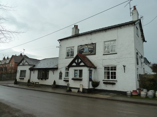 Nantwich, UK: The Cotton Arms, Wrenbury.