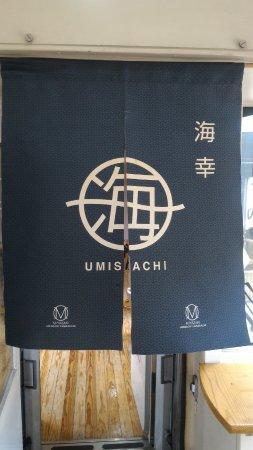Nichinan, Japan: 海幸布簾