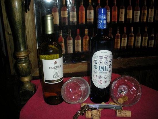restaurante henrys: vinos