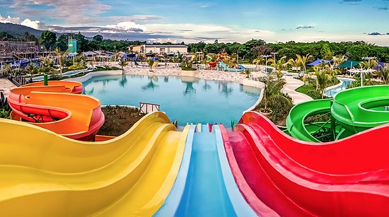 Things to do in Puerto Princesa with kids - Shows water park slides