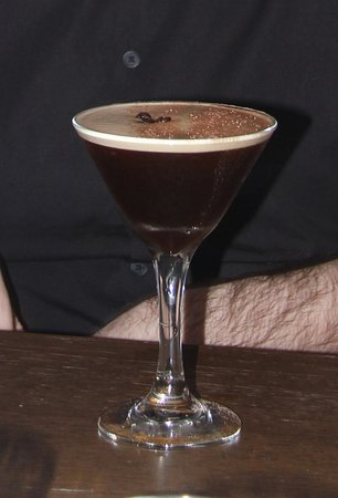 Maidenhead, UK: a cocktail - coffee + tia maria + vodka