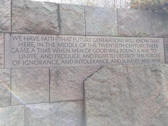 Franklin Delano Roosevelt Memorial: photo1.jpg