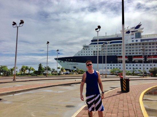 Coxen Hole, Honduras: porto