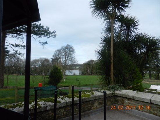 Waterford Castle Hotel & Golf Resort: View of river and grounds