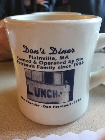 Plainville, MA: Don's Diner