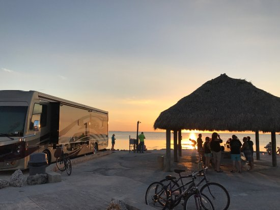 Fiesta Key RV Resort & Marina: Beautiful spot for sunset celebrations!