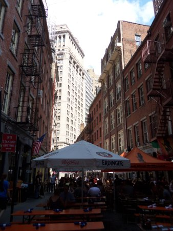Stone Street Historic District : rue