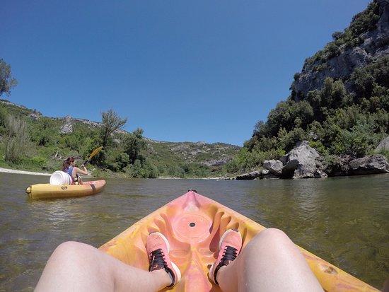 Collias, Francia: kayak gard