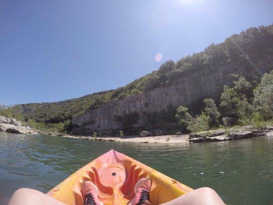 Collias, Francia: riviere gardon kayak