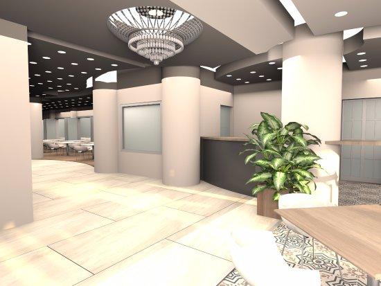 Asli Hotel: resepsiyon ve lobby 2017