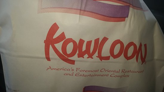 Saugus, MA: A take out bag from Kowloon .................I DON'T SHARE!!!!
