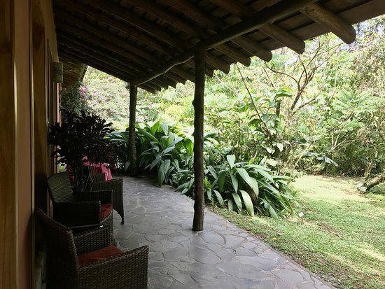 Horquetas, Costa Rica: Terrasse de la chambre