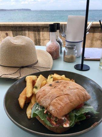 The Bower: Wagyu panini