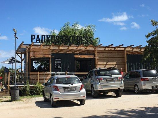 Grabouw, Güney Afrika: Coffee shop at Peregrine Farm Stall