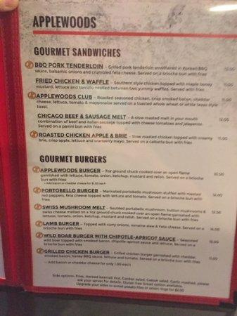 New Minas, Canadá: menu