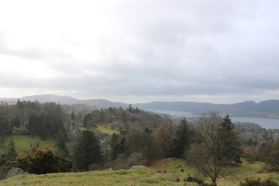Bowness-on-Windermere, UK: front (lake) view