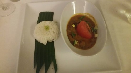 Great Bardfield, UK: Massiman beef curry