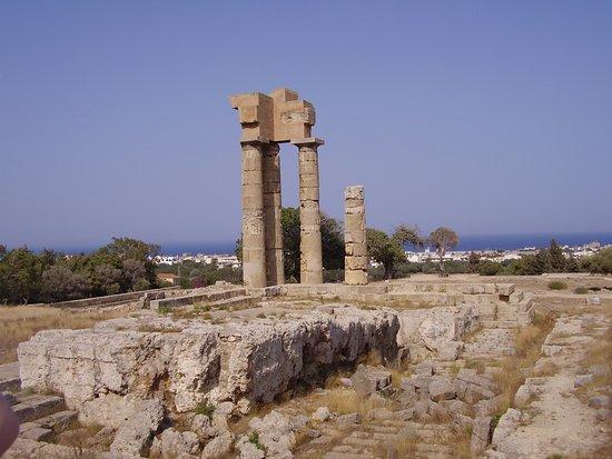 The Acropolis of Rhodes Photo