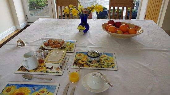 Wick, UK: Lovely breakfast table