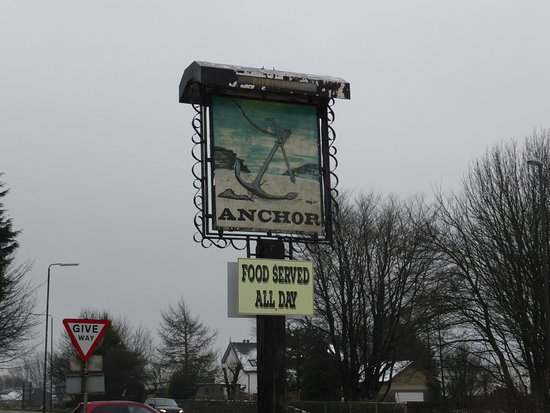 The Anchor Inn: Inn sign