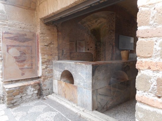 Ostia Antica, Italy: Ancient Shop currently out of stock