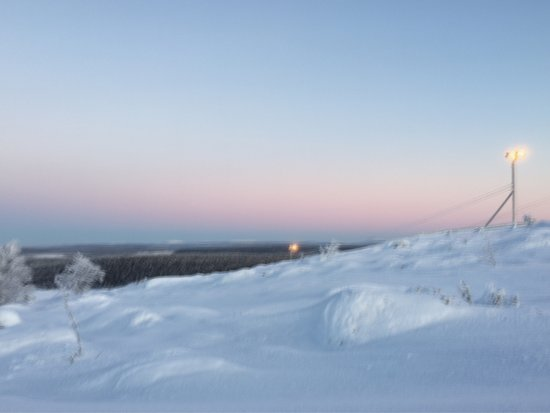 The views of Salla Ski Resort