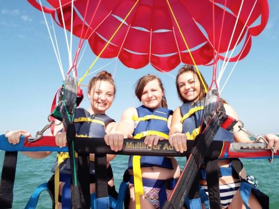 All Island Watersports: Sure to be one of our guests favorite Beach Activity options and deals.