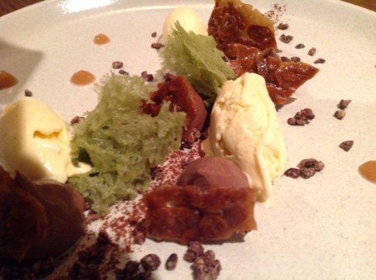 Urrugne, Francia: dessert au chocolat