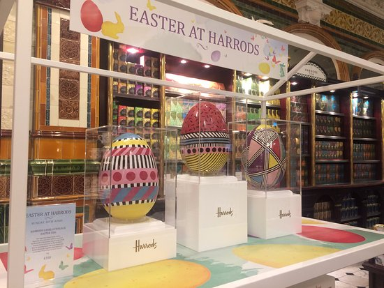 Baravellis easter eggs on display in harrods picture of baravellis easter eggs on display in harrods negle Choice Image