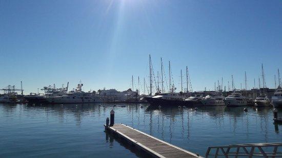 Puerto de Valencia: Blick auf die Marina