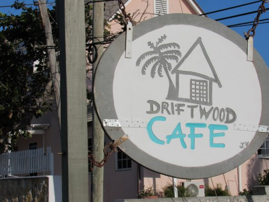 Driftwood Cafe: sign