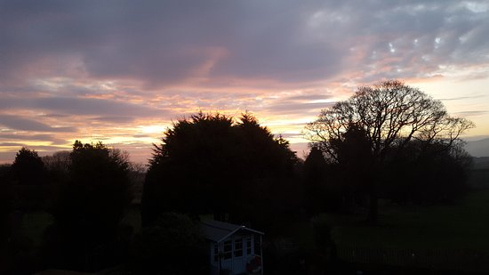 Fylingthorpe, UK: My Hubby;s morning sunrise photo whilst I soundly slept